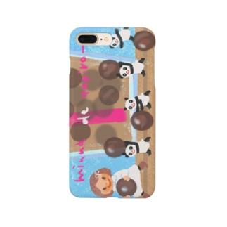 タピオカパンダスマホケース Smartphone Case