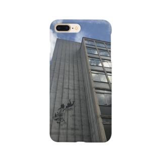バンクシー ストリートアート Smartphone cases