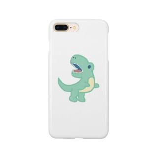 てぃらのさうるす Smartphone cases