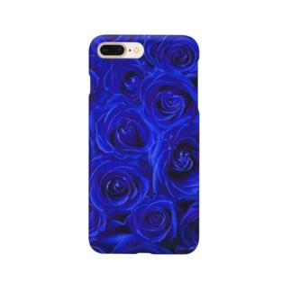 BLUE ROSE -1- Smartphone cases