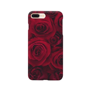 RED ROSE -1- Smartphone cases