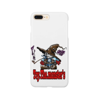 Toy.The.monster's ガンマ&ハット Smartphone cases
