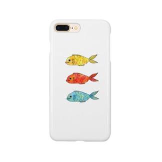 お魚信号機 Smartphone cases