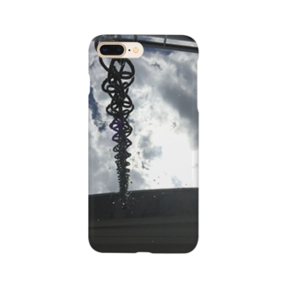 RyoY_ArtWorks_GalleryのSunLight_Chain_Water_SKY Smartphone cases