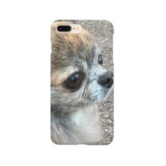 チワワのナッツくん Smartphone cases