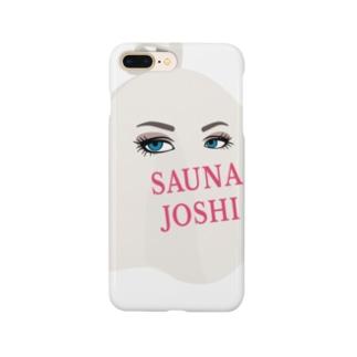 Saunajoshiあにめ Smartphone cases