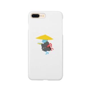 百鬼夜行の豆腐小僧 Smartphone cases
