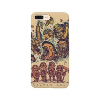 勇敢なバイト戦士達(サーモンラン) Smartphone cases