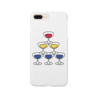 シャンパンタワー Smartphone cases