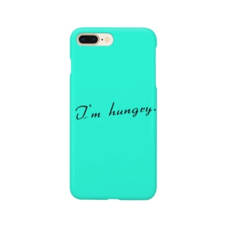 I'm hungry.  スマホカバー Smartphone cases