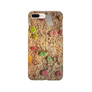 リトープス。サボテン。 Smartphone cases
