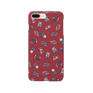 【日本レトロ#30】花札 Smartphone cases