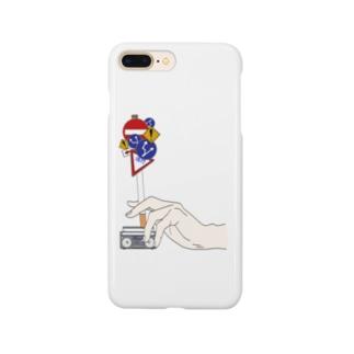 葉巻と手 グッズ Smartphone cases