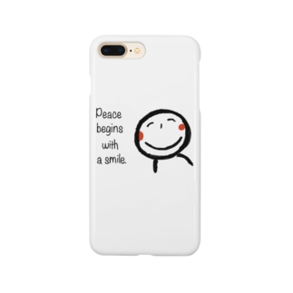 微笑み Smartphone cases