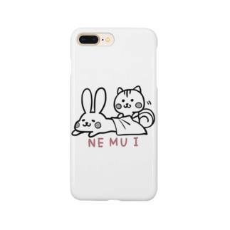 ねむいうさぎ Smartphone cases