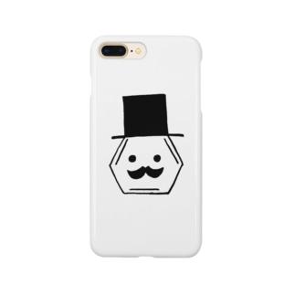 ムッシュベンゼン Smartphone cases