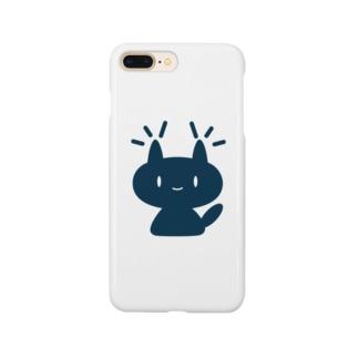 ガモさんのネコミミ「るーちゃん」 Smartphone cases