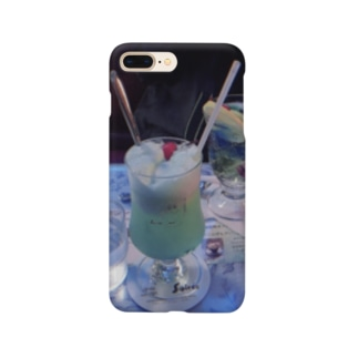 碧の喫茶店 Smartphone cases