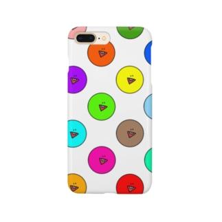 タピオカくんスマホケース Smartphone cases