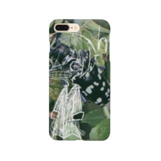 saya_otya0725の紙切れぬ人 Smartphone cases