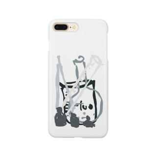 モノクロ ケミカル Smartphone cases