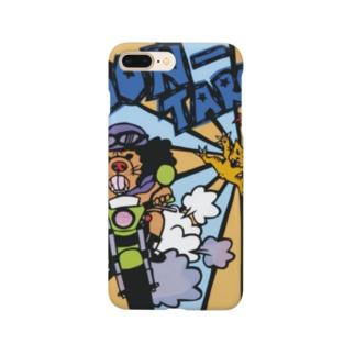『探偵ゴン』 ゴン太郎 公式グッズ Smartphone cases