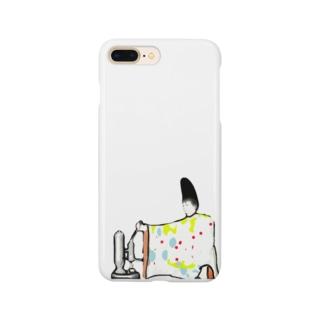 バリスタ三位中納言 Smartphone cases