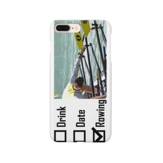 酒<女<<ボート Smartphone cases