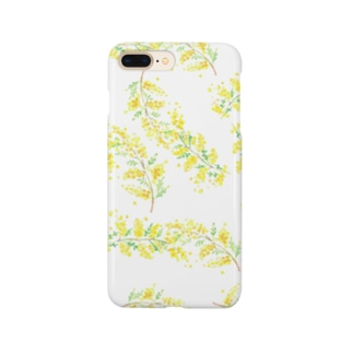 ミモザ Smartphone cases
