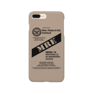 MRE 戦うスマホケース Smartphone cases