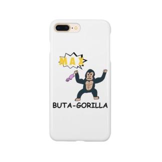 MAXブタゴリラ Smartphone cases