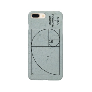 黄金長方形と黄金螺旋 Smartphone cases