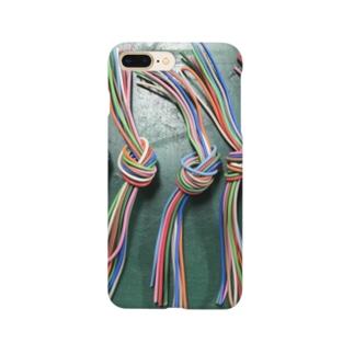 線のまとまり Smartphone cases