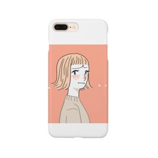 紅潮しちゃったgirl Smartphone cases