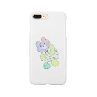 くまのこチャンプ Smartphone cases
