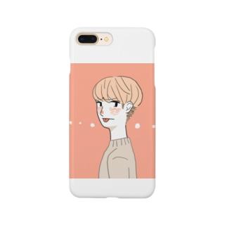 意地悪しちゃうboy Smartphone cases