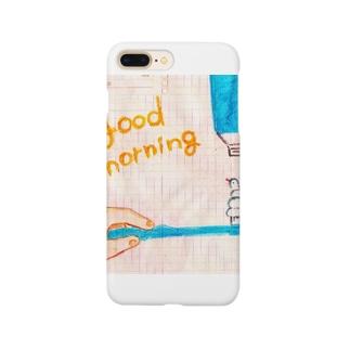 グッドモーニング Smartphone cases