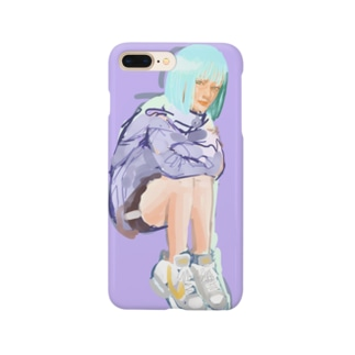 スニーカーちゃん Smartphone cases