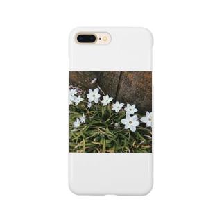 道端に咲くハナニラ Smartphone cases