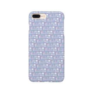 ブルーベリーヨーグルト Smartphone cases