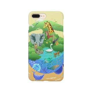 動物たちの惑星(ほし) Smartphone cases