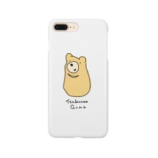 つきのわぐま Smartphone cases
