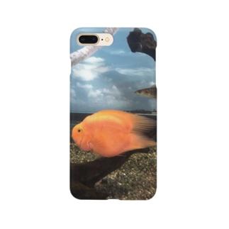 ハートテールパロットファイアー Smartphone cases