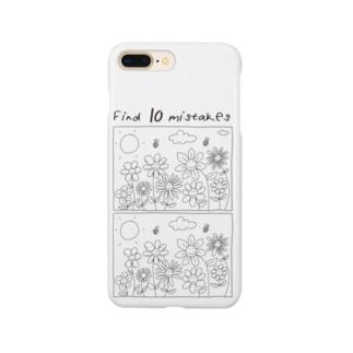 アパレル知育 「まちがいさがし」  Smartphone cases