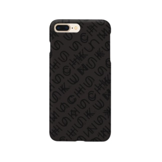uchuFONTblack Smartphone cases