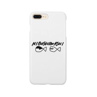 にぼいわ魚ロゴ入り Smartphone cases
