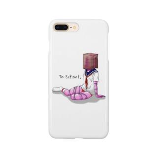 女学生 Smartphone cases