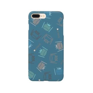 カエル ドラム ちりばめられたサブロー グリーン Smartphone cases