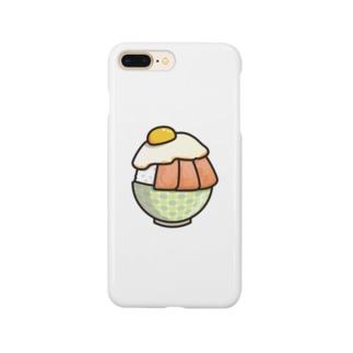 目玉焼き丼31【スパム】 Smartphone cases