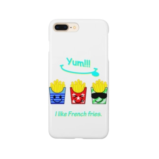 I💛French fries(face ver.) Smartphone cases